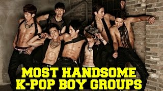 [TOP 20] Most Handsome K-Pop Boy Groups in 2015! (Poll Results)