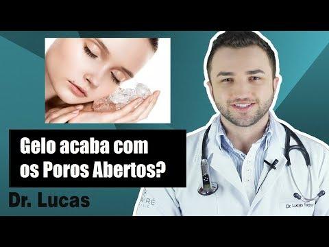 Gelo acaba com os Poros Abertos? - Dr Lucas Fustinoni