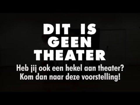 Een voorstelling om te waarschuwen voor theater in bieb Biddinghuizen