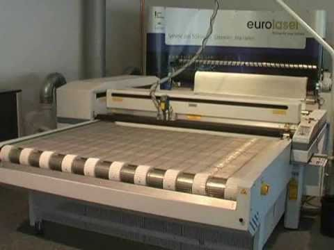 Cutting of spacer fabric | Laser cutting