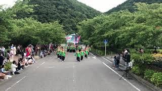 【2018】第18回うつくしまYOSAKOI祭り 2日目パレード①会場  南NA魅
