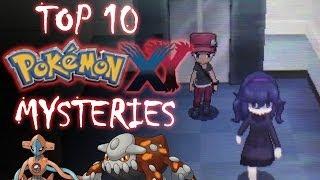 Top 10 Pokémon X & Y Mysteries   Tamashii Hiroka
