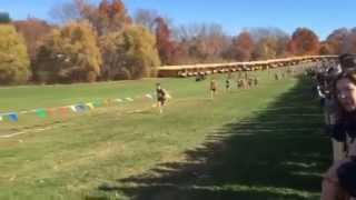 Aren Heitmann Cross Country Connecticut State Championships 10/31/15