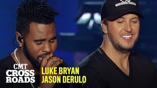 Luke Bryan & Jason Derulo Perform 'Trumpets' | CMT Crossroads