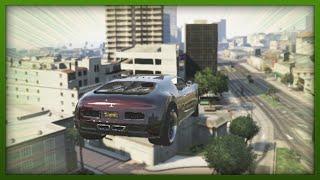 GTA 5 Funny Moments - Crazy Adder Stunt! - (GTA V Stunts & Fails)