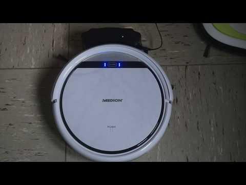 ▷ MEDION SAUGROBOTER VON ALDI - Unboxing, Review und Praxistest des Staubsauger Roboter Bestsellers