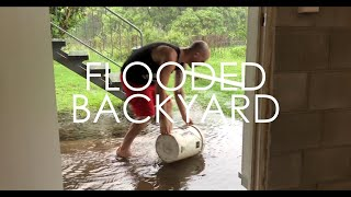 Trying To Solve A Flooding Problem In My Yard
