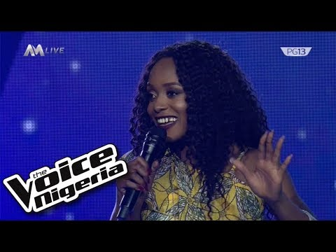 """Glowrie - He Lives In Me.""""/ Live Show/ The Voice Nigeria Season 2"""