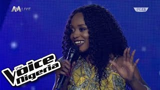 "Glowrie - He Lives In Me.""/ Live Show/ The Voice Nigeria Season 2"