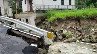 広島豪雨災害報道されない安芸郡災害状況その3