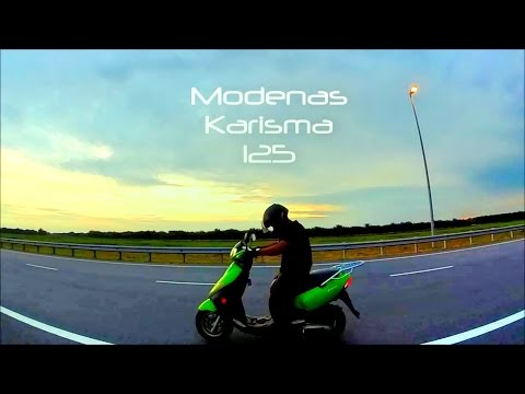 Modenas Karisma 125 - Not So Epic Cinematic (Bloopers to Naza Blade Epic Cinematic)