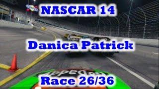 NASCAR 14 Danica Patrick Race 26/36 Richmond
