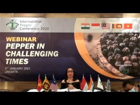 Mrs Hoang Thi Lien, Executive Director, International Pepper Community