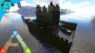 World War ARK - 2 Men 1 Base and the Floating Castle Raid! E14 ARK Survival Evolved