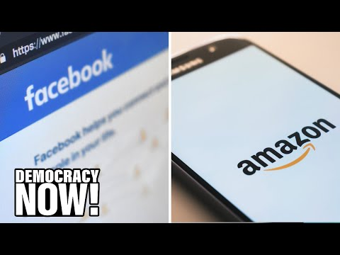 """The End of Big Tech? Calls Grow to Break Up Facebook, Amazon for """"Mob-Like"""" Behavior, Monopoly Power"""