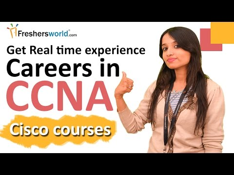 Careers and Training courses for Cisco CCNA Networking I Routing ...