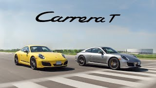 2018 Porsche 911 Carrera T Manual vs PDK Review - The Purist Porsche