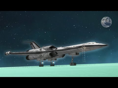 The Best Looking SSTO I've Ever Made! - KSP