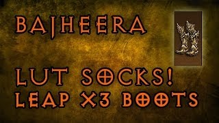 Bajheera - LUT SOCKS: Legendary (Leap x 3) Boots - Diablo III: Reaper of Souls