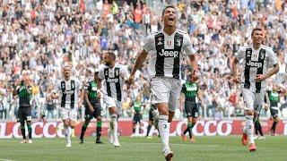 Juventus 2 X 1 Sassuolo - CR7 DESENCANTOU - Melhores Momentos - Campeonato Italiano 2018