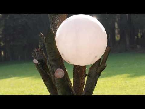 Kugellampe für Garten