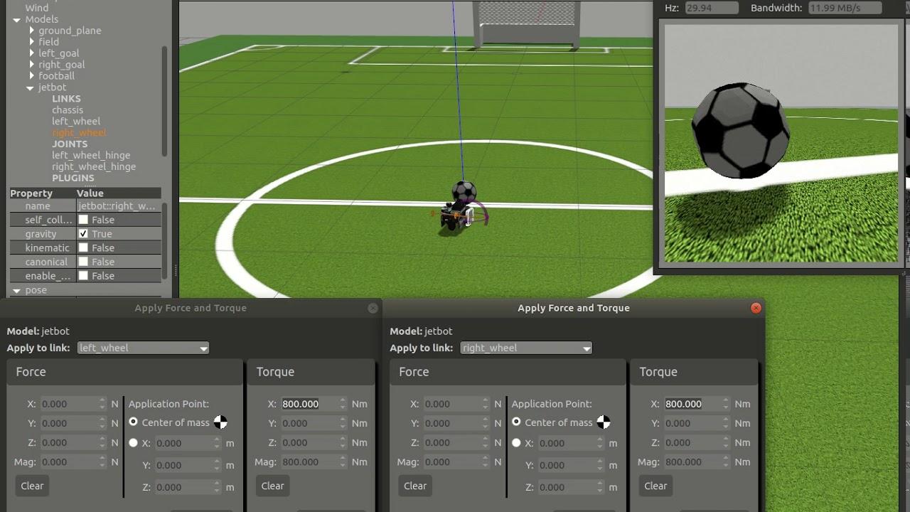 Jetbot soccer test1