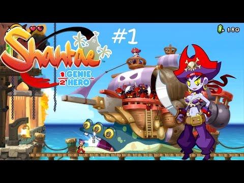 Shantae: Half-Genie Hero #1 - Как корабль назовешь ты, так его и разнесут!