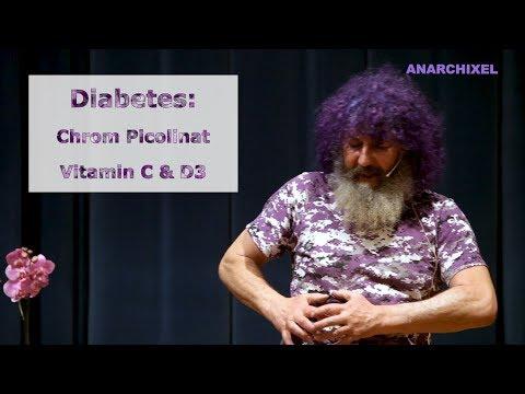 Robert Franz: Vorträge - Diabetes: Chrom Picolinat, Vitamin C und Vitamin D3