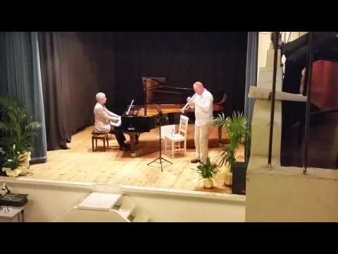 Pakhmutova Trumpet Concerto Excerpt performed in Italy 2016