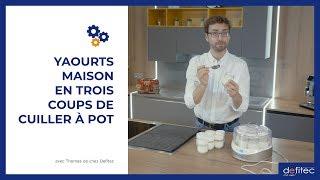 une yaourtière pour faire vos yaourts maison !