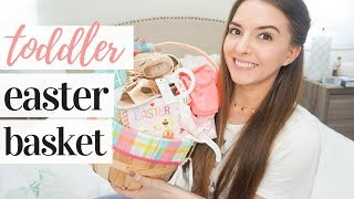 WHATS IN MY TODDLERS EASTER BASKET 2019 | 1 YEAR OLD EASTER BASKET IDEAS  🐰💕👶🏼