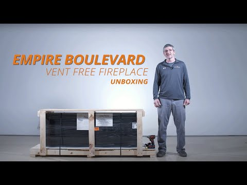 Unboxing the Empire Boulevard Linear Fireplace