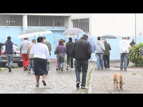 Friburgo: Movimento intenso durante a manhã no Colégio Estadual Feliciano Costa