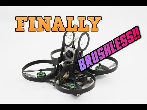 IT'S HERE!! THE DREAM INDOOR DRONE. BRUSHLESS WHOOP REVIEW | Aurora quadcopter review