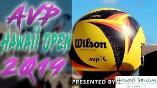 AVP Hawaii Open 2019 Pro Beach Volleyball   Honolulu, Hawaii