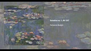 Sonatina no. 1, BV 257