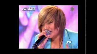 Charice — 'I Will Always Love You' a Cappella, on The Buzz