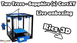 Unboxing T-Trees Sapphire (S) // Rics_3D \\ auf geht´s