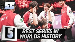 5 Best Series in Worlds History | LoL eSports