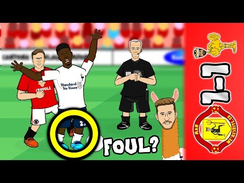 📺MAN UTD vs LIVERPOOL 1-1📺 Origi fouled? Rashford & Lallana Goals (2019 Parody Highlights)