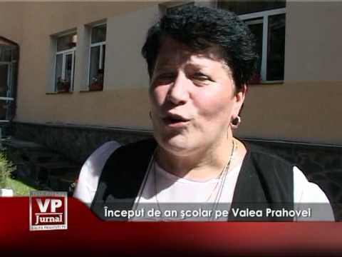 Început de an şcolar pe Valea Prahovei