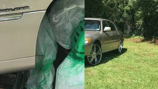 2002 Lincoln Town Car On 24s Free Online Videos Best Movies Tv