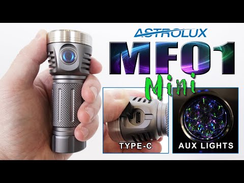 ASTROLUX MF01 MINI Review - Forget insects, so bright it attracts Dragons!