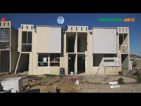 Otras cuatro viviendas se derrumban en Tijuana