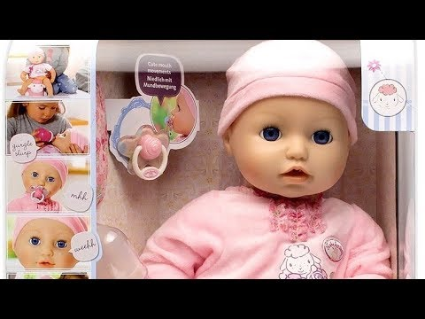 2016 NEW Baby Annabell  : Baby Doll Cries Tears , Sleep like Real Baby
