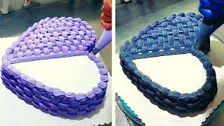 5 Amazing Cake Decorating Compilation Heart Shaped 💖 How To Decorate Cakes 🎂 Chocolate Cake Recipe