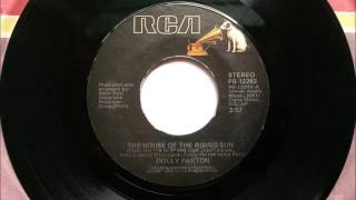 The House Of The Rising Sun , Dolly Parton , 1981 Vinyl 45RPM