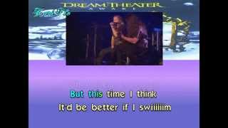 Dream Theater - The silent man -  Karaoke (Lyrics) - Instrumental - HD