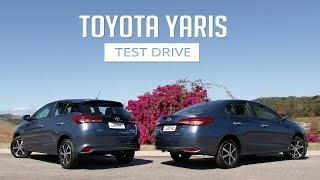 Toyota Yaris XLS 1.5 16V CVT - Test Drive