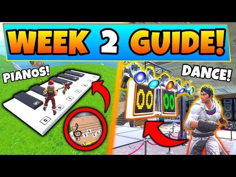 Fortnite Week 2 Challenges Guide Dance Off In An Abandoned Mansion